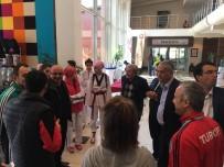 Başkan Şahin Taekwondo Sporcularını Şampiyonada Ziyaret Etti