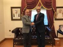 KUVEYT - Belediye Başkanı Kara, Büyükelçi Zawawi'yi Ziyaret Etti