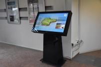 Belediye Girişine Bilgi Ekranı Konuldu