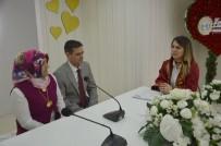 Bozüyük'te Sevgililer Günü'nde 9 Çift 'Bir Ömür Boyu Evet' Dedi