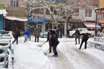 Çatak'ta Kar Yağışı