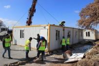 HAKAN HAKYEMEZ - Deprem Bölgesinde Konteyner Okullar Kuruluyor