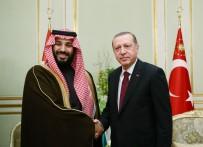 KÖRFEZ - Erdoğan, Suudi Arabistan Veliaht Prensini Kabul Etti
