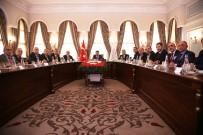 İSTANBUL SANAYI ODASı - İstanbul Valiliğinde 'Çalışma Hayatında Milli Seferberlik' Toplantısı Yapıldı
