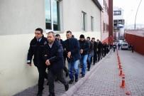 ERCIYES - Kayseri'de FETÖ Operasyonunda Gözaltına Alınan 14 Akademisyen Adliyeye Sevk Edildi
