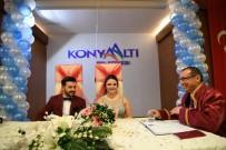 ÇEKIM - Konyaaltı'nda 20 Dakikada Bir Nikah