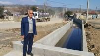 SU BASKINI - Ödemiş'in O Mahallesinde Kötü Koku Ve Çamura Kanallı Çözüm