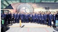 OLYMPIAKOS - Osmanlıspor, Olympiakos Maçı İçin Atina'ya Hareket Etti