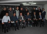 İLETİŞİM FAKÜLTESİ - Polis, Adliye Muhabirleri İnmez'i İkinci Kez Başkan Seçti