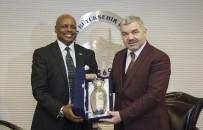 Ruanda Büyükelçisi Başkan ÇELİK'i Ziyaret Etti