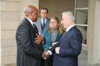 Ruanda Cumhuriyeti Büyükelçisi Williams Nkurunziza Vali Kamçı'yı Ziyaret Etti