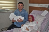 YUMURTA - Sevgililer Gününde İkiz Bebek Sevinci