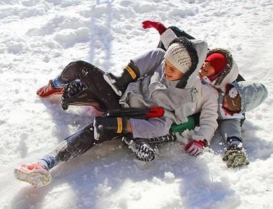 Şırnak'ta eğitime kar engeli