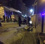 TURGUT ÖZAL - Takla Atan Otomobilin Sürücüsü Yaralandı