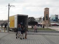 ATIF YILMAZ - Taksim'de '14-15 Şubat Emniyet Tedbirleri' Önlemleri