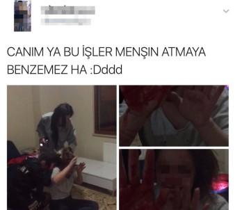 Trabzon'da Üniversiteli Kızlar Sosyal Medyada Randevulaşıp Kavga Etti