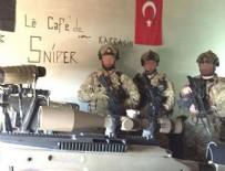 Türk askerinden El Bab pozu