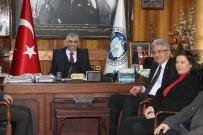 AHMET DEMIRCI - Turpçu'dan GMİS'e Taziye Ziyareti
