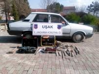 KAÇAK KAZI - Uşak Jandarmasından Kaçak Kazı Operasyonları