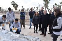 ÖZDEMİR ÇAKACAK - Vali Çakacak Yapımı Süren Arkeoloji Müzesini İnceledi