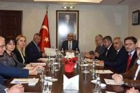 İSMAİL HAKKI ERTAŞ - Vali Demirtaş'ın Başkanlığında Ceyhan OSB Toplantısı Düzenlendi