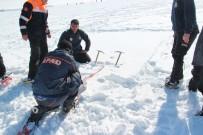 AFAD'tan Eksi 20 Derece Soğukta Tatbikat