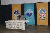 MAVİ MARMARA - Ağrı'da 'Her Ay Bir Konu, Bir Konuk' Programı