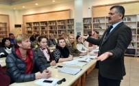 YABANCı DIL - Alanya'da Yaşayan Yerleşik Yabancılar Türkçe Öğreniyor