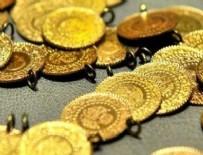 ÇEYREK ALTIN - Altın düşüşe geçti