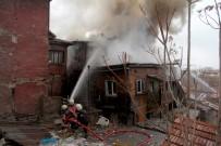 Ankara'da 3 Katlı Binada Yangın Paniği