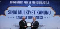 NURETTIN ÖZDEBIR - Bakan Özlü Açıklaması 'Türkiye, Sınai Mülkiyet Alanında Emekleme Ve Öğrenme Dönemini Artık Geride Bırakmıştır'