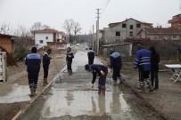 YENIKÖY - Başiskele'de Beton Yol Çalışmaları Devam Ediyor