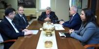 TİCARET BAKANLIĞI - Başkan Karaosmanoğlu Gümrük Ve Ticaret Bakanlığı Yetkililerini Ağırladı