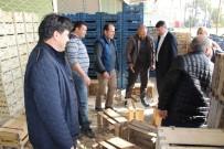 ATAYURT - Başkan Turgut, Meyve Ve Sebze Hali Esnafını Ziyaret Etti