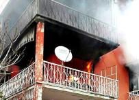 Burhaniye'de Korkutan Yangın