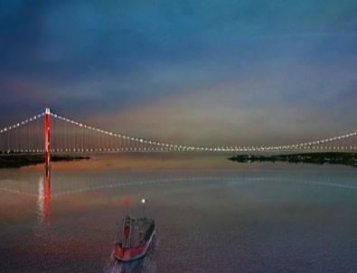 Çanakkale Köprüsü'nün görselleri ilk kez yayınlandı