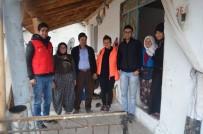 'Çaya Geliyoruz' Projesinde Gönüllüler İşitme Engelli Gence Misafir Oldu