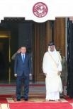 KATAR EMIRI - Cumhurbaşkanı Erdoğan, Katar Emiri İle Görüştü