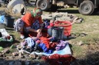 Depremzede Kadınlar Çamaşırhane İstiyor