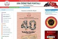 YABANCı DIL - 'Din Öğretimi Portalı' Yayın Hayatına Başladı
