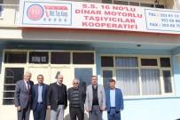 KOCABAŞ - ESOB Başkanı Konak, Dinar'da Çeşitli Ziyaretlerde Bulundu