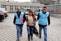 Evden Hırsızlık Zanlısı Genç Kadın Tutuklandı
