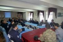 FATIH ÖZDEMIR - Gürün'de Öğrenci Taşıma Güvenliği Toplantısı Yapıldı
