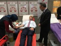 İSMAİL HAKKI - İstanbul Cumhuriyet Başsavcısı, Kızılay'a Kan Bağışında Bulundu