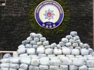 1 ton uyuşturucu ele geçirildi