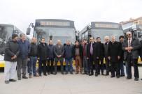 HALK OTOBÜSÜ - Karaman'da Yeni 10 Halk Otobüsü Törenle Hizmete Başladı