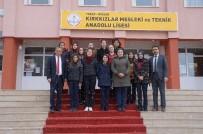 ÇOCUK GELİŞİMİ - Kırkkızlar Mesleki Ve Teknik Anadolu Lisesi Öğrencileri Avrupa Yolunda