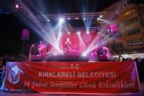 KIRMIZI HALI - Kırklareli'de Sevgililer Günü Etkinlikleri