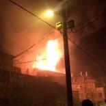 Konya'da Cami Yangını