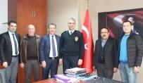 MİTSO'dan Milas'ın Yeni Emniyet Müdürü Ava'ya Ziyaret